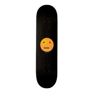 Machen Sie es glücklicher Gesichts-smiley - Personalisierte Skatedecks
