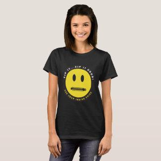 Machen Sie es… Reißverschluss es gut T-Shirt