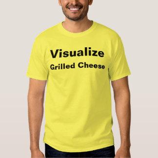 Machen Sie gegrillten Käse sichtbar Hemden