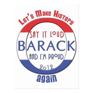 Machen Sie Geschichte Barack, wieder! Postkarten