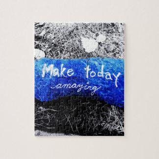 Machen Sie heute fantastisch Puzzle