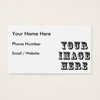 Machen Sie Ihre Selbst Visitenkarte