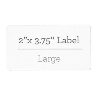 Machen Sie Ihren eigenen Aufkleber 8,5 x 11