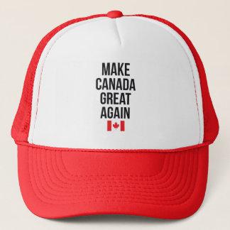 Machen Sie Kanada großer wieder Kanadier-erstes Truckerkappe