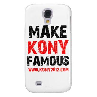 Machen Sie Kony berühmt - Kony 2012 Galaxy S4 Hülle