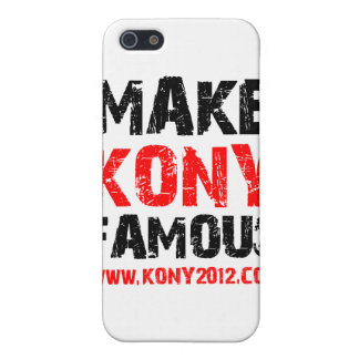 Machen Sie Kony berühmt - Kony 2012 Schutzhülle Fürs iPhone 5