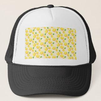 Machen Sie Limonade - süßen gelben Zitronen-Druck Truckerkappe