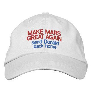 Machen Sie Mars großen wieder lustigen Antidonald Bestickte Baseballkappen