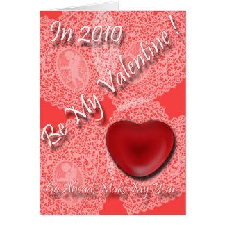 Machen Sie meine Jahr-Valentinsgrüße Karte