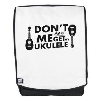 Machen Sie mich Ukulele Uke Rucksack