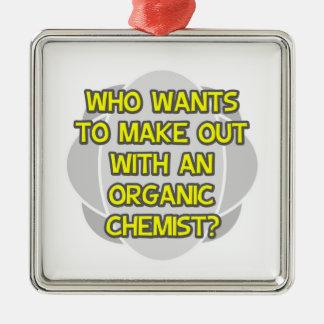 Machen Sie mit einem Bio Chemiker aus Weihnachtsbaum Ornamente