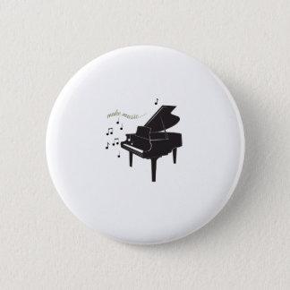 Machen Sie Musik Runder Button 5,7 Cm