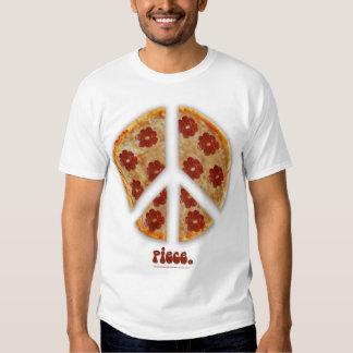 """""""Machen Sie Pizza-nicht Kriegs-"""" T - Shirt"""