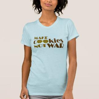 Machen Sie Plätzchen-nicht Krieg T-shirt