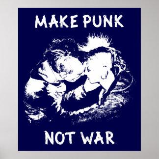 Machen Sie Punk, nicht Krieg! Poster