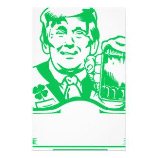 machen Sie St. patricks Tagesgroßes wieder Grün Briefpapier