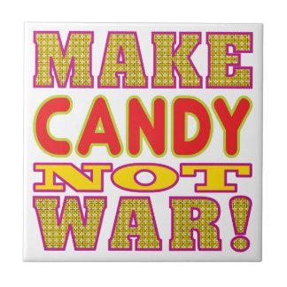 Machen Sie Süßigkeit Fliese
