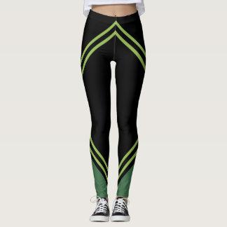 MACHEN Sie symmetrische Linie Farbgamaschen des Leggings