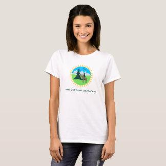 MACHEN SIE UNSEREN PLANETEN GROSS WIEDER! T-Shirt