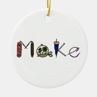 Machen Sie Verzierung für Hersteller, Handwerker, Keramik Ornament
