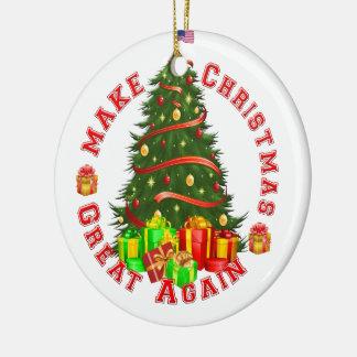 Machen Sie Weihnachten große wieder Keramik Ornament