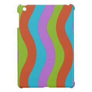 Machen Sie Wellen-Streifen glatt iPad Mini Hülle