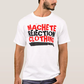 Macheten-Ablehnungs-Kleidung T-Shirt