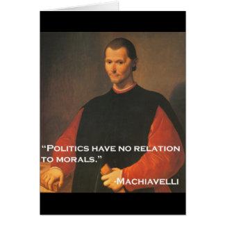 Machiavelli 2b karte