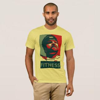 Mächtige Fitness T-Shirt