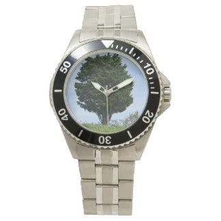 Mächtige Zeder Armbanduhr