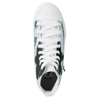 Mächtige Zeder Hoch-geschnittene Sneaker