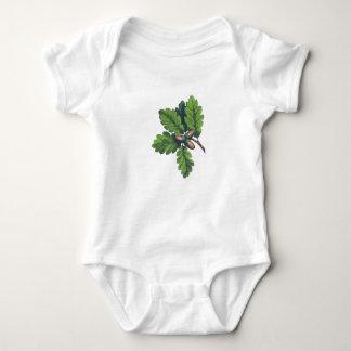 Mächtiges Eichen-Baby-Shirt Baby Strampler