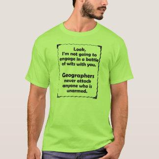 Machtkampf Geographen T-Shirt