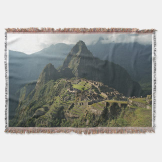 Machu Picchu gesponnene Wurfs-Decke/Wandbehang Decke