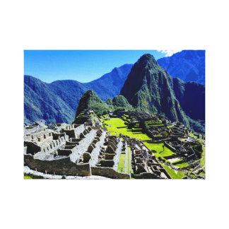 Machu Picchu Leinwanddruck