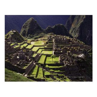 Machu Picchu, Peru Postkarte