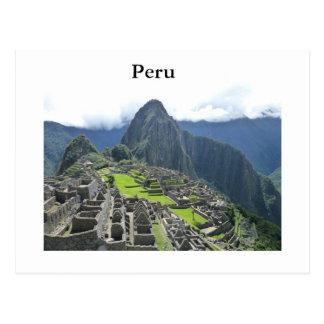 Machu Picchu Postkarte