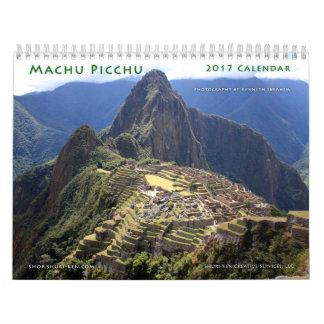 Machu Picchu Wandkalender