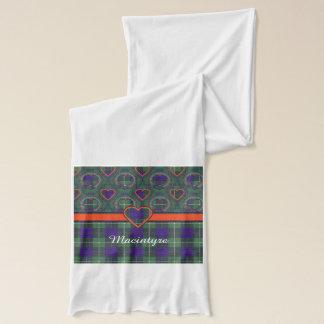 Macintyre Clan karierter schottischer Tartan Schal