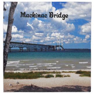 Mackinac Brücke Michigan Serviette