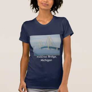 Mackinac Brücke, Michigan T-Shirt