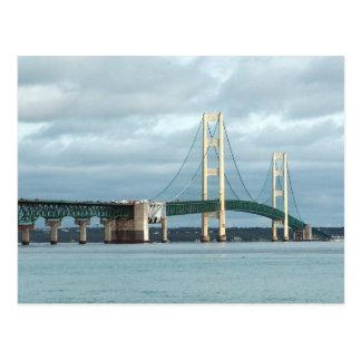 Mackinac Brücke Postkarte