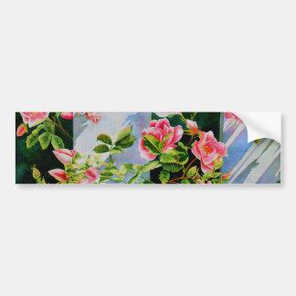 Mackinac Rose Autoaufkleber