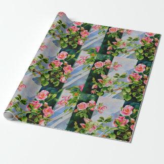 Mackinac Rose Geschenkpapier