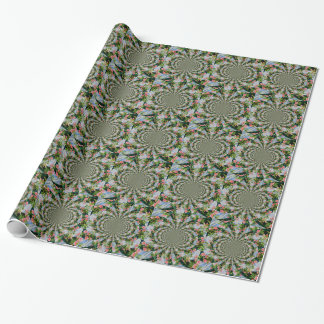 Mackinac Rose Mandala Geschenkpapier