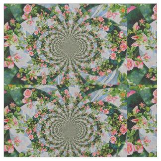 Mackinac Rose Mandala Stoff