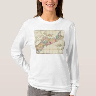 Mackinlays Karte der Provinz von Neuschottland 2 T-Shirt