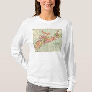 Mackinlays Karte der Provinz von Neuschottland 4 T-Shirt