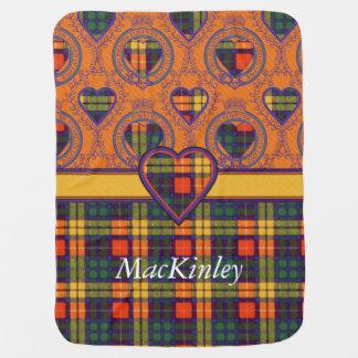 MacKinley Clan karierter schottischer Kilt Tartan Puckdecke