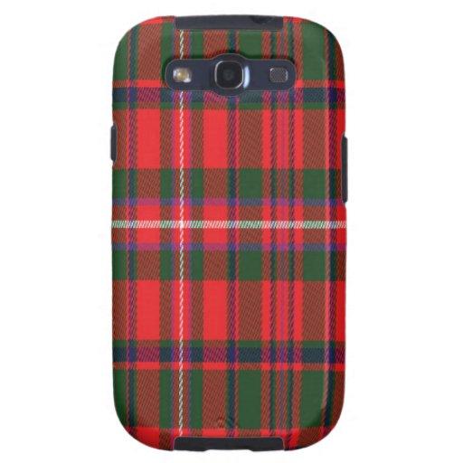 Mackinnon schottischer Tartan Samsung rufen Fall Samsung Galaxy S3 Etui